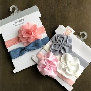 Carters Assorted Baby Girls Headband Bows